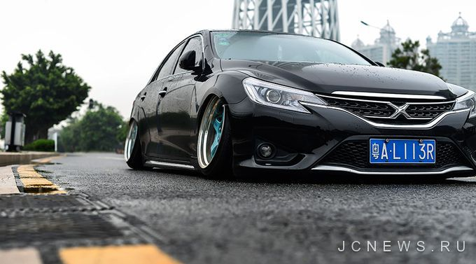 Toyota Mark X на колесах SSR